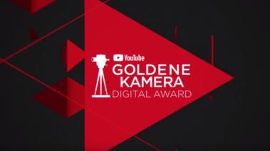 Youtube GOLDENE KAMERA Digital Award